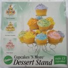 NIB Wilton Cupcakes 'N More Dessert Stand Holds 13 Cupcakes Tiered Holder