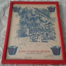 Los Caracoles September 1964 Framed Winery Restaurant Print Red Barcelona Spain
