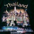 TEMPLE OF EMERALD BUDDHA, BANGKOK THAILAND T-Shirt Size L Muay Thai joli golf