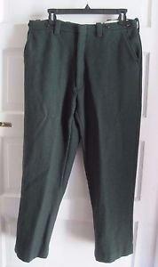 Vintage Northway Heavyweight Suspender Ready Wool Hunter Work Pants Mens 33 x 27