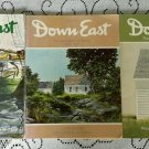 Vintage 70's Lot of 5 Downeast The Magazines of Maine Back Issues 1974