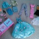 Lot Barbie Fashion Avenue Set clothes outfits accessory case 1999 Tara Toy