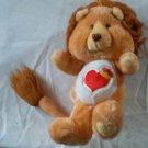 1984 Brave heart Lion Care Bears Cousins Kenner American Greetings Korea