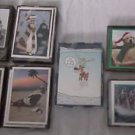 LOT OF  7 NEW BOXED RSVP PEOPLE SANTA CARTOON HUMOR HOLIDAY CHRISTMAS CARDS ENV