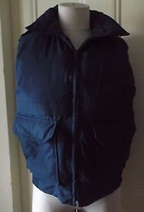 Vintage Tundra Down Lord & Taylor Full Zip Up Western Puffer Vest Womens size M