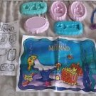 1991 Tyco Super Dough Disney The Little Mermaid Under Sea Play Doh Set No. 4025