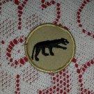 Vintage Panther Boy Scout Patch Badge Maine ME BSA Cub Insignia Merit