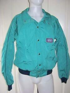 Vintage 1984 CB Sports Nylon Windbreaker Shell Ski Jacket Mens M All Condition