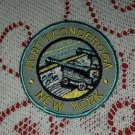 NOS Round Embroidered Fort Ft. Ticonderoga NY New York Patch Travel Souvenir