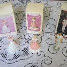 LOT OF 3 HALLMARK KEEPSAKES BARBIE COLLECTOR SPRINGTIME NATIVE AM SERIES HOLIDAY