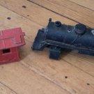 Lot of 2 Lionel O27 Gauge Metal Engine Caboose Post War Demolition Parts/Repair
