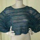 Yarn Works Cape Shawl Poncho Bolero Shrug Knit Crochet sweater One Size OS