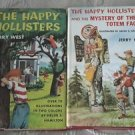 Lot of 2 The Happy Hollisters and the Mystery of the Totem Faces by Jerry West