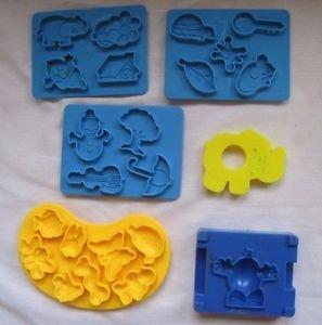 Vintage Play Doh Sesame Street ABC Company Parts Pieces 1973 Kenner Elephant 241