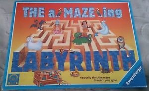 THE A-MAZE-ING LABYRINTH 2002 Board Game Amazing Maze Ravensburger Amazeing