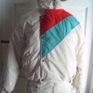 Vintage Mountain Goat Goose Down Filled Ski Winter Parka Jacket Coat Womens L