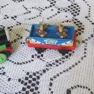 Lot of 3 Thomas The Train 1989 Ertl Toby 7 Monkey Car Sodor Zoo Percy Die Cast