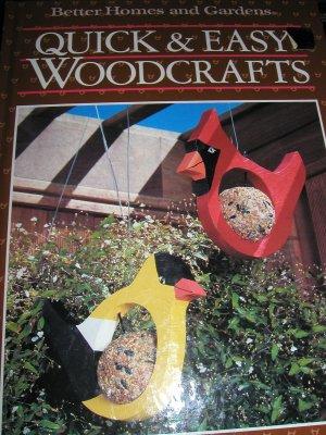 Quick & Easy Woodcrafts - BH & G 1988