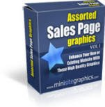 ASSORTED SALES PAGE GRAPHICS