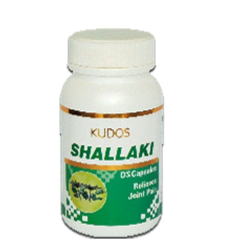 KUDOS Shallaki Capsules D.S For Joint Pain - 60 Capsules