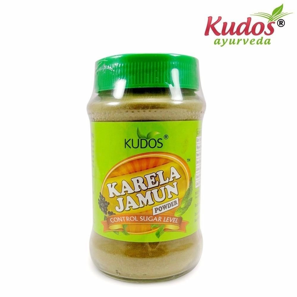 Kudos Pure Natural Karela Jamun Power - Health Care-200Gms