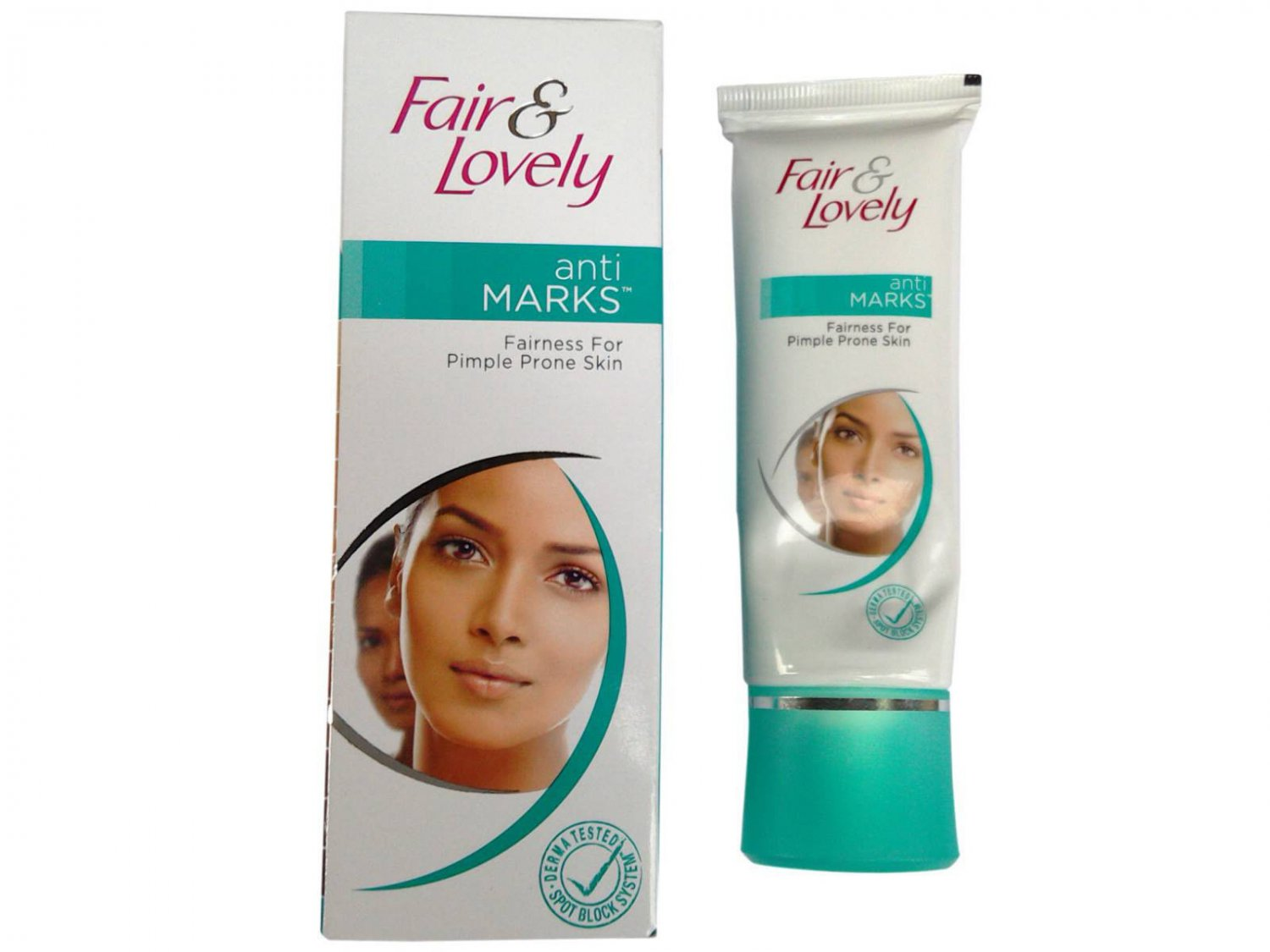 Fair & Lovely Anti Marks Fairness Cream for Pimple Prone Skin -25Gms