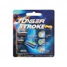 Gillette Ultra Razor Blades / Cartridges - Laser Stroke Razor Handle