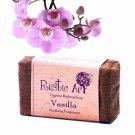 100% Natural & Pure Rustic Art Organic Vanilla Soap - 100 Gms