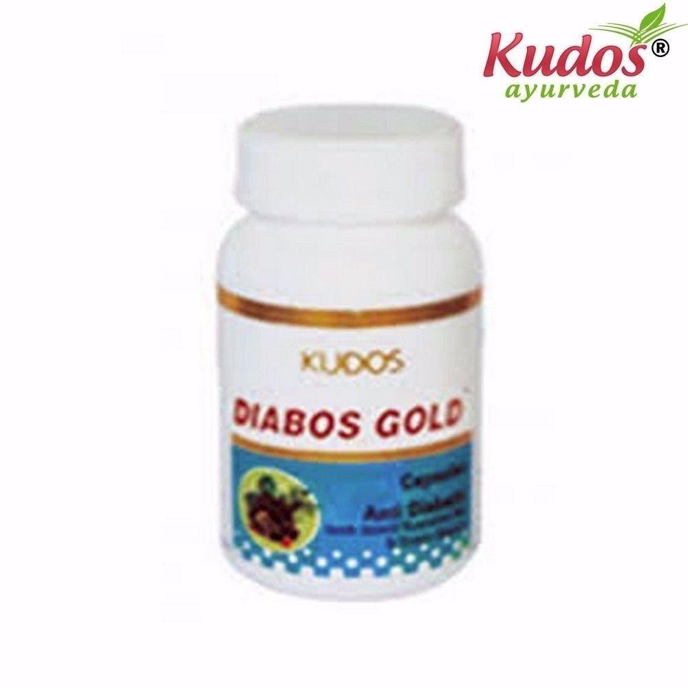KUDOS Diabos Gold Capsules - 60 Capsules