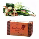 Rustic Art 100% Natural Organic Vetiver Soap - No Animal Testing - 100 Gms