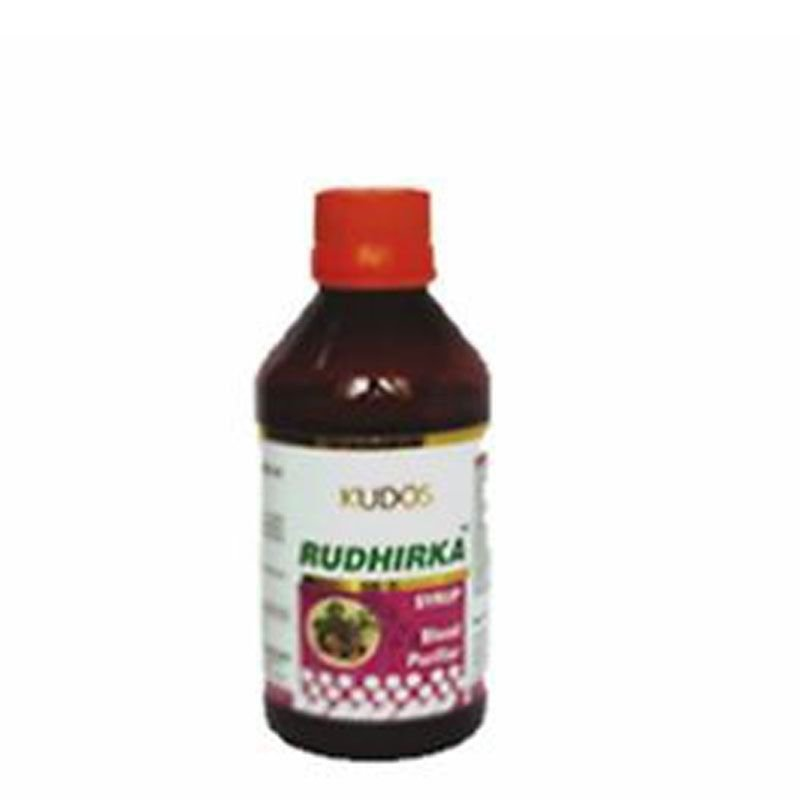 KUDOS Rudhirka Syrup -  Removes Toxins And Purifies The Blood - 200ml