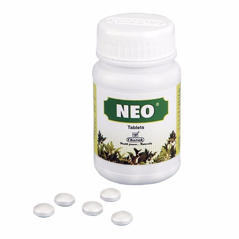 100% Pure Natural  Herbals Charak, Neo For Children -75 Tablets