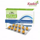 Kudos Ayulax Capsules 100% Pure & Natural Herbal - 3x10 Capsules