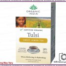 Certified Organic Real Tulsi Sweet Lemon Tea (18 Bags)- Balances Energy Levels