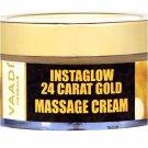 24 Carat Gold Leaves, Massage Cream – Kokum Butter & Wheatgerm Oil 50GM
