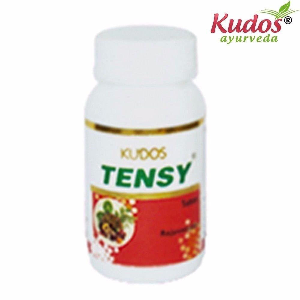 KUDOS Tensy Tablets - 100 Tablets - 100% Natural Herbs