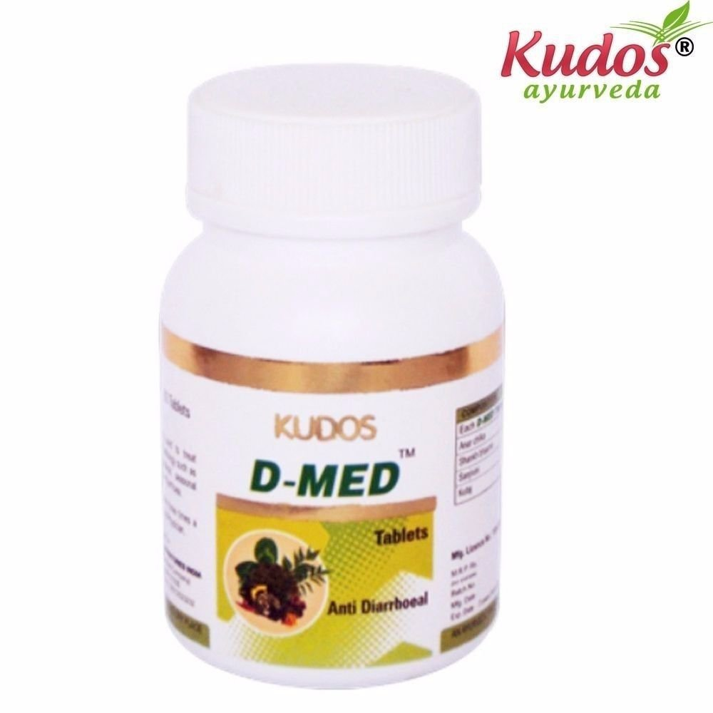 KUDOS D-Med Tablet - 60 Tablets - Pure Herbal