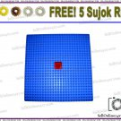 New Stress Pad/Power Mat Acupressure Therapy Stress Relief - Free Sujok Rings