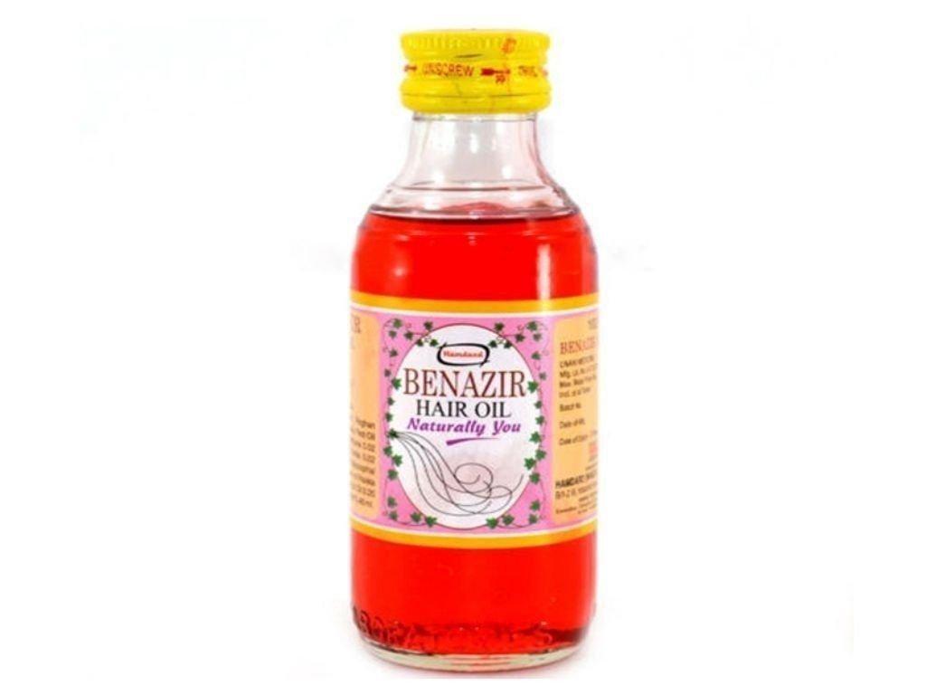 Hamdard Benazir Hair Oil & Give Nourishment- 100ml Free Shipping