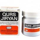 100% Pure Herbal Hamdard Qurs Jiryan -50 Pills
