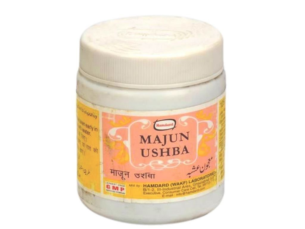 Original Hamdard Herbal Majun Ushba 125g Unani Herbal For Good Health