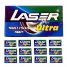 Laser Ultra Triple Coated Stainless Double Edge Blades - A Safe Razor To Be Used