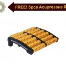 Acu. Roller Foot Massager Magnetic Pyramidal Improved Stress Relief Therapy