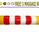 Acupressure Magnetic Plastic Hand Roller Acupuncture Reflexology Massager