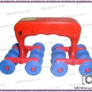 Acupressure 16 Wheels Massager Full Body Vibrator Therapy Relaxation Roller