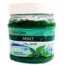Bio Care Mint Gel Face Scrub 500ml For Deep Cleansing, Skin Toning