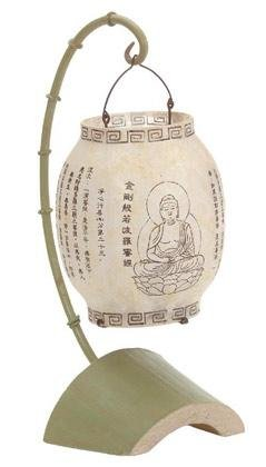Elaborate Asian Desk Lamp