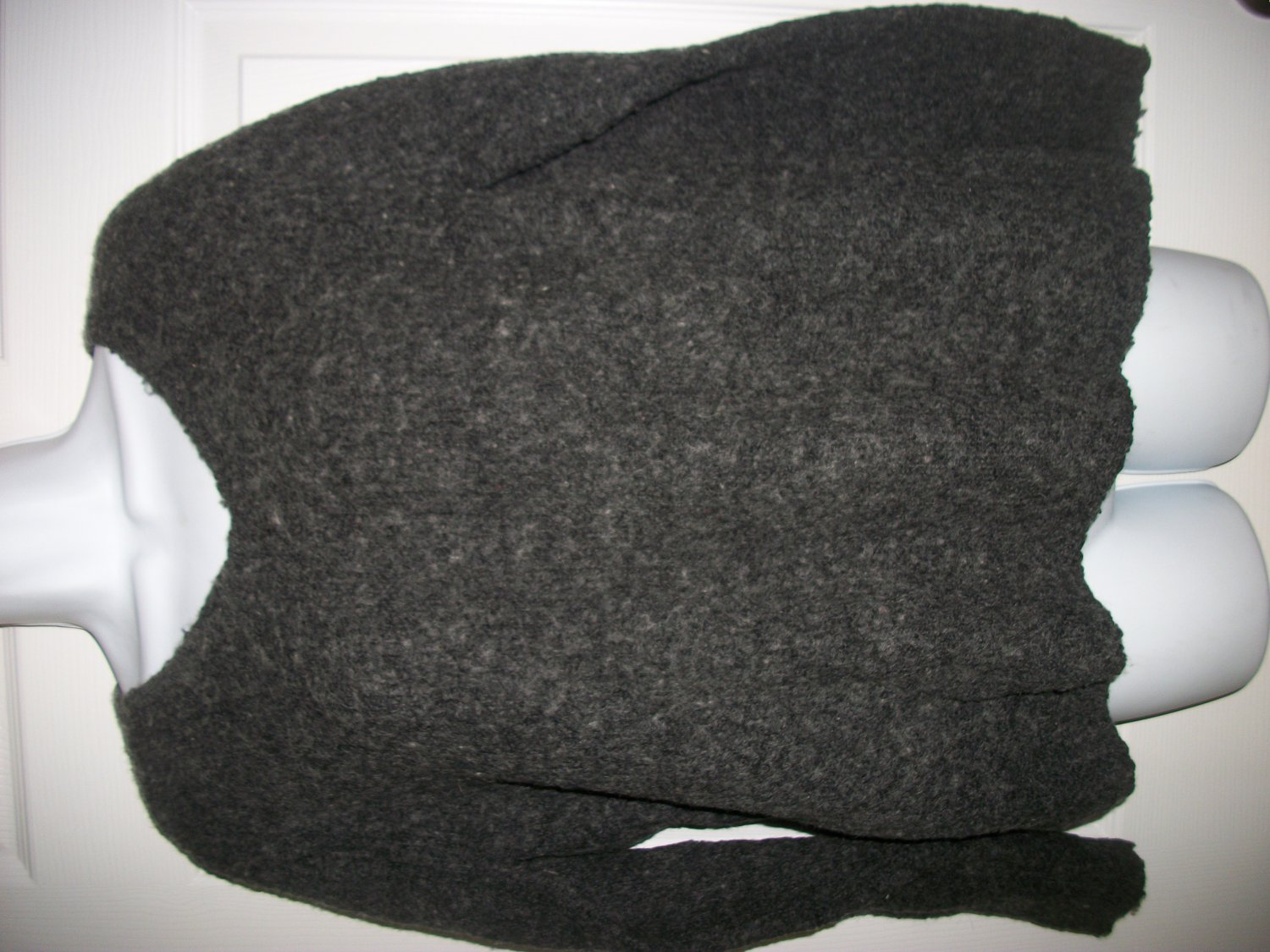 Paraphrase Women's Gray Wool Blend Sweater Size M