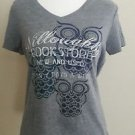Sonoma womens tee t-shirt top graphic size S gray