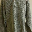 haggar mens casual shirt long sleeve size L